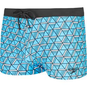 speedo Valmilton Aquashorts Men bondi blue/white/black